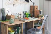 Caixotes criando o seu home office