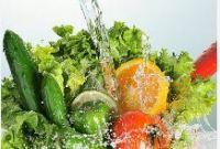 limpeza frutas, legumes e verduras
