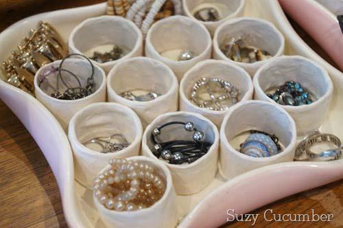 Porta joias e bijuterias