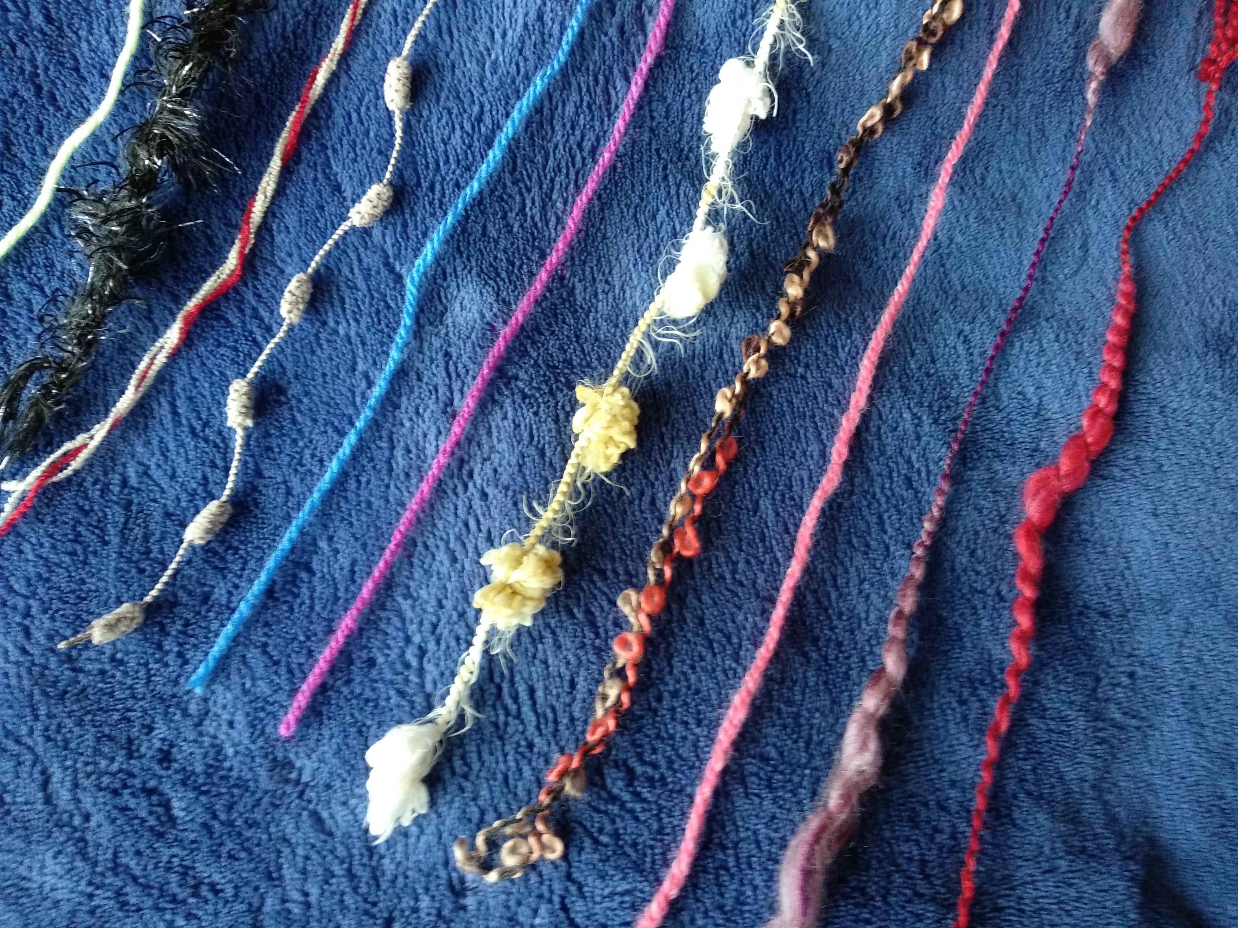 Sobrinhas de lã diversas