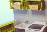 Caixotes organizando a lavanderia