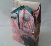 Embalagem de presente de caixa de aveia