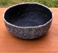 Utilitário: Vasilha (bowl) feita de papel machê